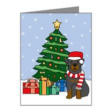 Rottweiler Christmas Note Cards (Pk of 20) for