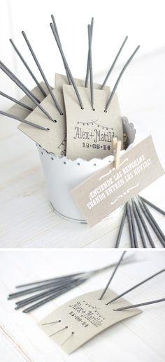 10 DIY para usar tu sello de bodas / Project Party Studio…