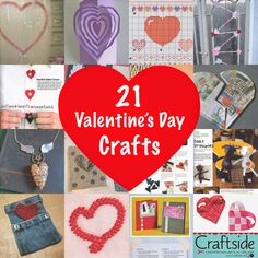 Craftside: 21 Valentine's Day Crafts to Make for the Ones You Love