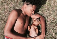 This Bro Did A Maternity Shoot For His Dog And It Deserves A Goddamn Award - http://viralfeels.com/this-bro-did-a-maternity-shoot-for-his-dog-and-it-deserves-a-goddamn-award/