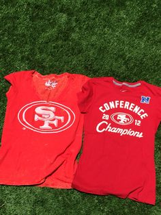 Cute fitted shirts for game day!  49ers  touchbyam Workout Shirts 51ddd175b