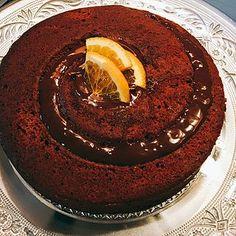"""Torta cioccolato e marmellata di arance (Da una ricetta di Nigella Lawson) """" Preparare le torte al cioccolato fa bene all'anima e all'umore. Dovete provarla perché ha un impasto particolare e si sciog"""