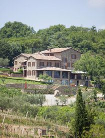 Serravalle  villa, vineyard and olive oil  Tuscany
