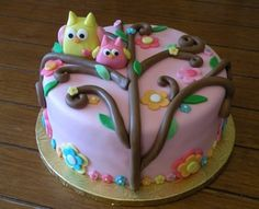 Had this cake made for my niece's baby shower from Bell's Little~Big Cakes. Love it!