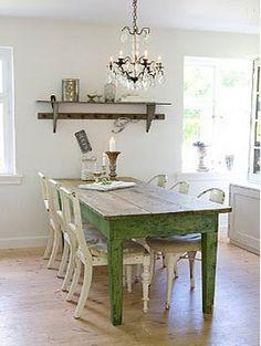mooie kleur tafel
