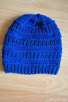 Baby Hats Knitting, Baby Knitting Patterns, Loom Knitting, Hand Knitting, Crochet Patterns, Beanie Pattern, Knit Beanie Hat, Hand Knitted Sweaters, Knitted Hats
