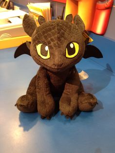 toothless plush (how to train your dragon 2) at build a bear(would give him 2 hearts : )