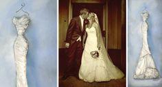 Jane's Dress – Oil Painting Special Wedding Gifts, Unique Wedding Gifts, Wedding Dress Sketches, Wedding Dresses, Pronovias Dresses, Anniversary Present, Beautiful Dresses, Stationery, Portraits
