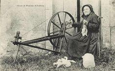 Photos d'Autrefois - le fil du rouet