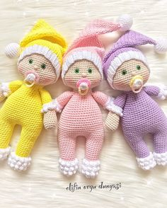 Crochet Free Pattern Hat Christmas Gifts 56 Ideas For 2019 Crochet - Diy Crafts Crochet Bear, Cute Crochet, Crochet Animals, Beautiful Crochet, Amigurumi Patterns, Amigurumi Doll, Doll Patterns, Crochet Patterns, Knitted Dolls