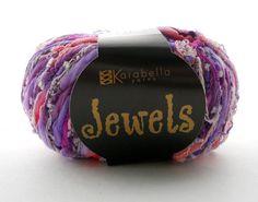 Vegan velvety and sparkly yarn Jewels by by ProvisionsbyElvee https://www.etsy.com/listing/161790016/vegan-velvety-and-sparkly-yarn-jewels-by?ref=shop_home_active_9