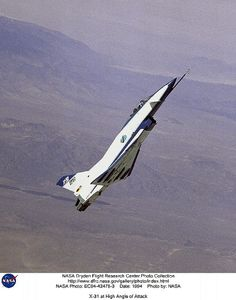 October 11, 1990: First flight of the Rockwell-MBB X-31