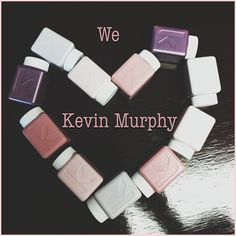 We are the only salon in Worthing to use and stock Australian brand Kevin Murphy. Kevin Murphy is a session stylist, who after years of using different products wanted to create his own unique range. His brand is skin care for the hair, using natural and organic ingredients to create that session styled look! We love love love these products!