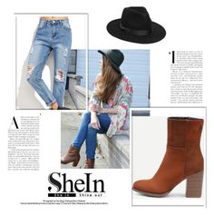 """""""SheIn 06"""" by ermina-camdzic ❤ liked on Polyvore featuring Lack of Color and shein"""