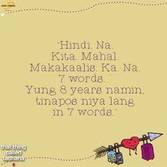 """Pa'no ba makalimot? ""hugot"" lines Hugot Quotes Tagalog, Hugot Lines Tagalog, Outing Quotes, Qoutes About Love, Crush Quotes, Romania, Good Movies, Crushes, Motivational"