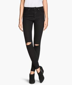 Skinny High Waisted Jeans, $34.99 | H&M US | Obvs, you're a badass who can wear jeans with holes.