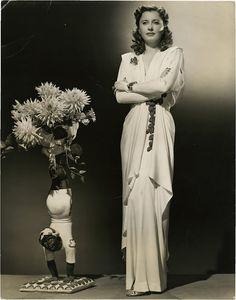 Barbara Stanwyck in Ball of Fire (1941, RKO)  Designer: Edith Head