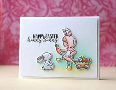 Neat & Tangled-Cottontail Cuties | happy easter hunny bunny | Laura Bassen