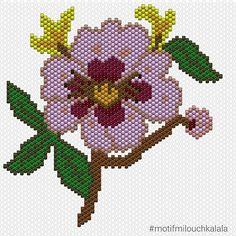 Voilà la grille de ma fleur asiatique pour ceux qui veulent la tisser !  @elisapearls  #miyuki #miyukiaddict #perlesmiyuki #perlesaddict #miyukibeads #miyukidelica #brickstitch #beadsaddict #beading #perlesaddictanonymes #perlezmoidamour #jesuisunesquaw #jenfiledesperlesetjaimeca #jenfiledesperlesetjassume #tissageperlesmiyuki #diagrammemiyuki #flower #asiaticflower #fleurasiatique #motifmilouchkalala