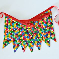 Very Hungry Caterpillar Fabric Bunting / by LittleMissCharlie