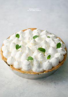Bellissima e golosa: Crostata meringata al Limone (anche detta Lemon Meringue Pie). Con pasta frolla e meringa all'italiana di Montersino e crema al limone!