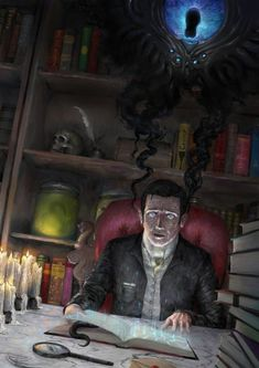 Explore the Cthulhu collection - the favourite images chosen by hplvecraft on DeviantArt. Hp Lovecraft, Lovecraft Cthulhu, Arte Horror, Horror Art, Call Of Cthulhu Rpg, Lovecraftian Horror, Eldritch Horror, Dark Fantasy Art, Fantasy Characters