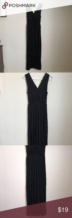 FLOWY BLACK MAXI DRESS Flowy black maxi dress. Never worn! Dresses Maxi