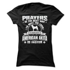 BUT MESSING MY AMERICAN AKITA IS FASTER TSHIRTS - #tee shirt design #short sleeve shirts. PURCHASE NOW => https://www.sunfrog.com/Pets/BUT-MESSING-MY-AMERICAN-AKITA-IS-FASTER-TSHIRTS-Ladies.html?60505