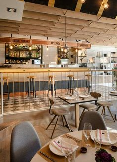 Guito's Restaurant in Madrid with Scandinavian interior and recipes