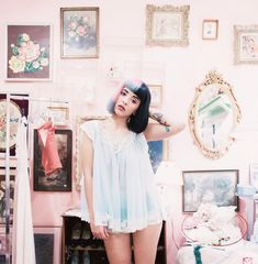Vintage shopping with Melanie Martinez at Playclothes in Burbank. Our new favorite place. Pure heaven.
