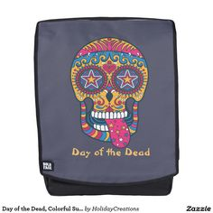 Day of the Dead, Colorful Sugar Skull
