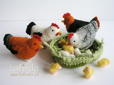 Mesmerizing Crochet an Amigurumi Rabbit Ideas. Lovely Crochet an Amigurumi Rabbit Ideas. Crochet Birds, Easter Crochet, Crochet For Kids, Crochet Dolls, Crochet Gratis, Free Crochet, Knitting Projects, Crochet Projects, Chicken Pattern