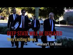DEEP STATE WILL BE DEFEATED by Attorney Lin Wood Fight For Us, Trump Pence, Left Wing, View Video, Exciting News, Political News, Trust God, We The People, Folk