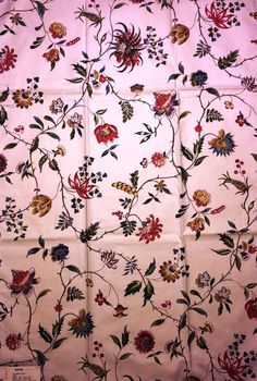 "1 Vintage Lee Jofa Fabric Sample 24"" x 1' Yard Calimere Print Ecru 100% Cotton Made In England + FREE SAMPLES on Etsy, $10.00"