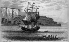 The Half Moon by S. Hollyer, engraving. Collection of The New-York Historical Society