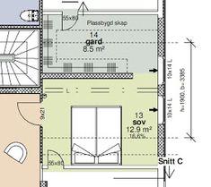 Huset i Glimmerveien: Garderobe på hovedsoverommet Walk In Closet, Master Bedroom, Floor Plans, Loft, Inspiration, Design, Home Decor, Yurts, Coat Racks