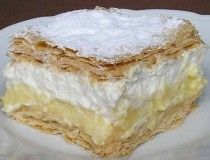 | NejRecept.cz Sweet Recipes, Cake Recipes, Hungarian Desserts, Bread Dough Recipe, Delicious Deserts, Something Sweet, Vanilla Cake, Sweet Tooth, Food And Drink