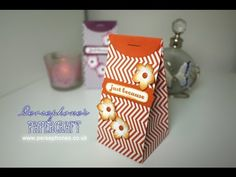 Stapled Treat Bag | Stampin' Up (UK) with Persephone's Papercraft - YouTube