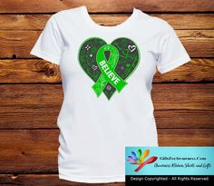 Kidney Disease Believe Heart Ribbon Shirts