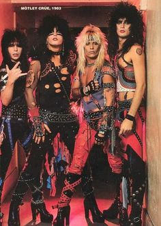 the boys that made me love all thing rock n roll Rock N Roll, Rock & Pop, Big Hair Bands, Hair Metal Bands, Girls Girls Girls, Glam Metal, Tommy Lee, Nikki Sixx, Glam Rock