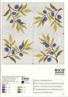 Cross Stitch Fruit, Tiny Cross Stitch, Cross Stitch Pillow, Cross Stitch Kitchen, Cross Stitch Borders, Cross Stitch Flowers, Cross Stitch Designs, Cross Stitching, Cross Stitch Embroidery
