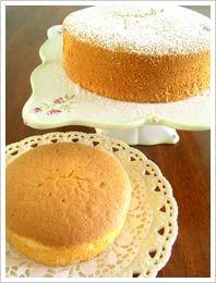 Light and Fluffy Chiffon Cake  by make-fabulous-cakes