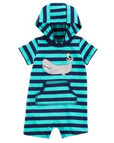 Baby Boy Whale Romper | Carters.com