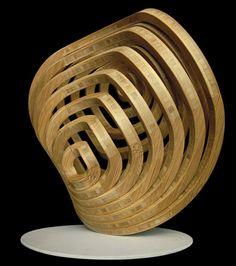Bamboo sculpture