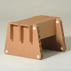 #Frank #Cardboard #Footstool - You can choose your favorite #colour - #eco…                                                                                                                                                                                 Más
