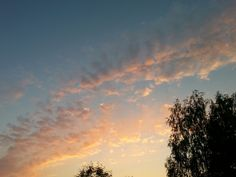 Colourful skies