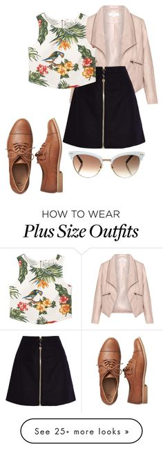 """""""New"""" by morosha on Polyvore featuring Zizzi, Acne Studios, MANGO, Gap and Gucci"""