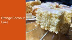 Fluffy coconut and orange cake : Orange cake recipe with orange juice Madeira Cake Recipe, Baking Videos, Cake Decorating Videos, Freshly Squeezed Orange Juice, Orange Recipes, Vanilla Cake, Cake Recipes, Bakery, Lime