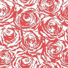 Bildresultat för brodera vitt på vitt ros
