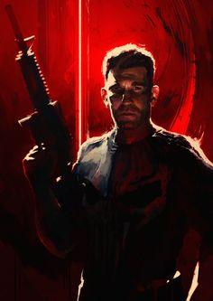 The Punisher Portrait - Mauro Mussi Punisher Marvel, Punisher Netflix, Marvel Comics, Marvel Dc, Ian Mckellen, Frank Castle Punisher, Avengers, Graphic Novel Art, Graffiti Wallpaper